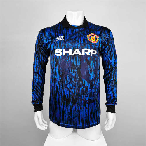 Manchester United Away Long Sleeve Retro Jersey 93/94