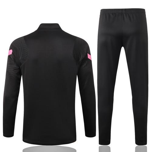 Barcelona Training Jersey Suit 20/21 Black