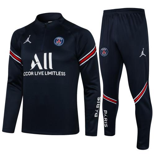 Paris Saint Germain Training Jersey Suit 21/22 Royal Blue