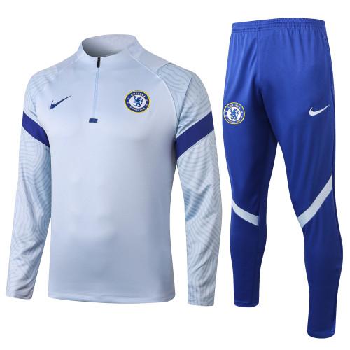 Chelsea Training Jersey Suit 20/21 Grey