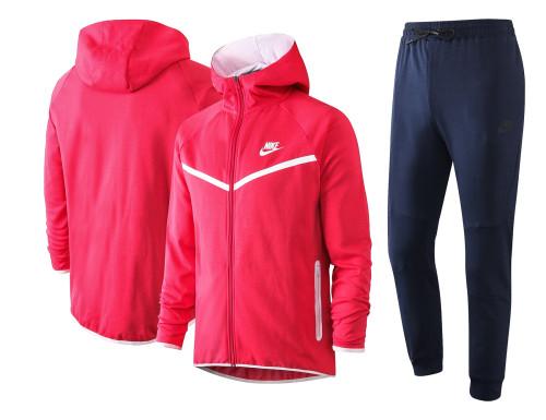 Nike Cotton Jacket Suit Pink