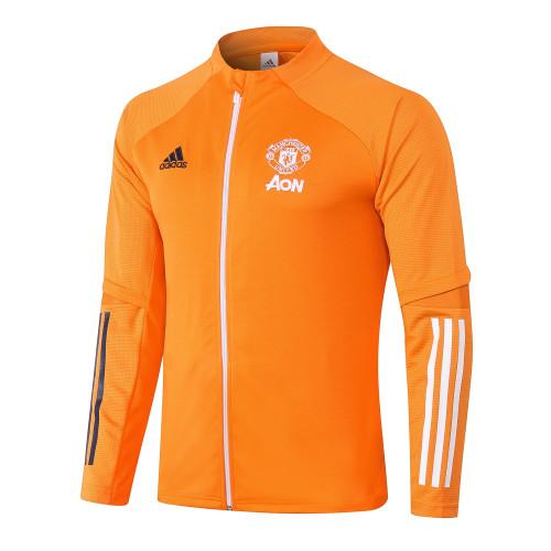 Manchester United Training Jacket 20/21 Orange