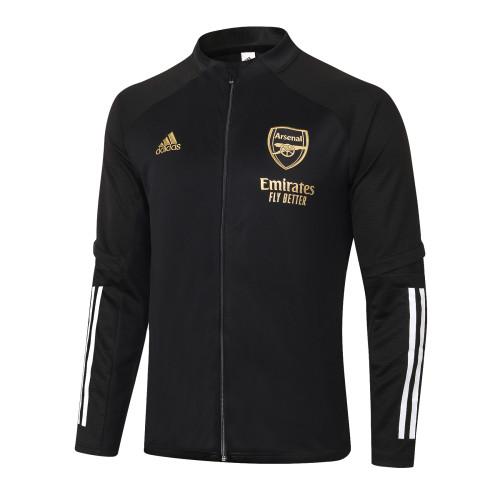 Arsenal Training Jacket 20/21 Black