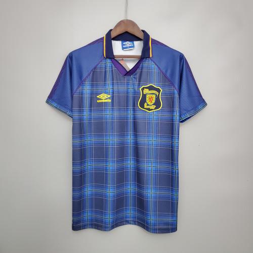 Scotland Retro Home Jersey 1994/96