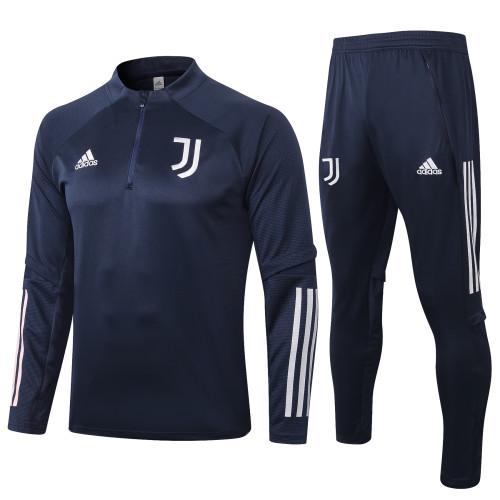 Juventus Training Jacket Suit 20/21 Blue