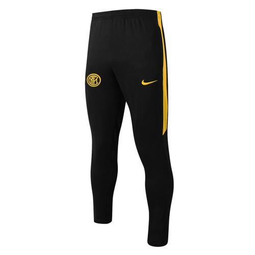 Inter Milan Training Pants 20/21 Black-Yellow