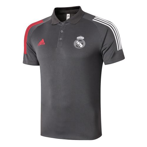 Real Madrid POLO Jersey 20/21 Dark grey