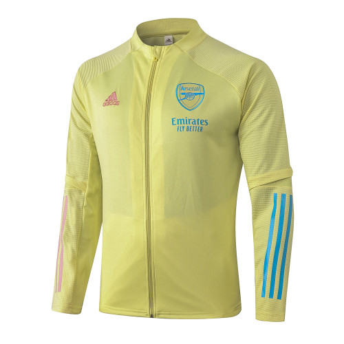 Arsenal Training Jacket 20/21 Yellow
