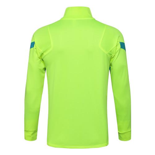 Inter Milan Training Jacket 21/22 Fluorescent Green