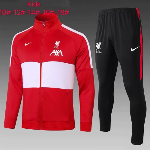Liverpool Kids Training Jacket Suit 20/21 Red