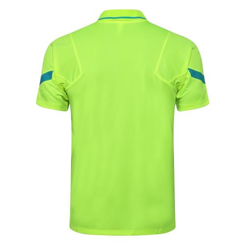 Inter Milan POLO Jersey 21/22 Fluorescent Green