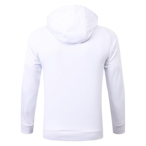 Paris Saint Germain Training Hoodie 20/21 White