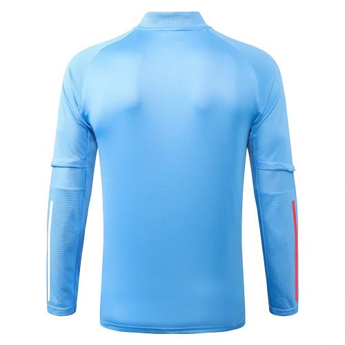 Real Madrid Training Jacket 20/21 Light blue