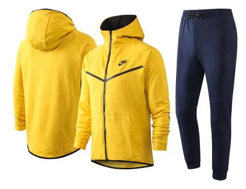 Nike Cotton Jacket Suit Yellow