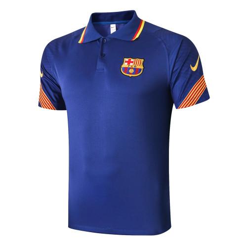 Barcelona POLO Jersey 20/21 Blue