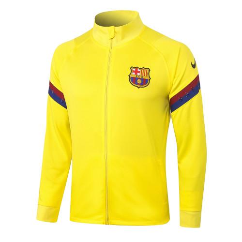 Barcelona Training Jacket 20/21 Yellow