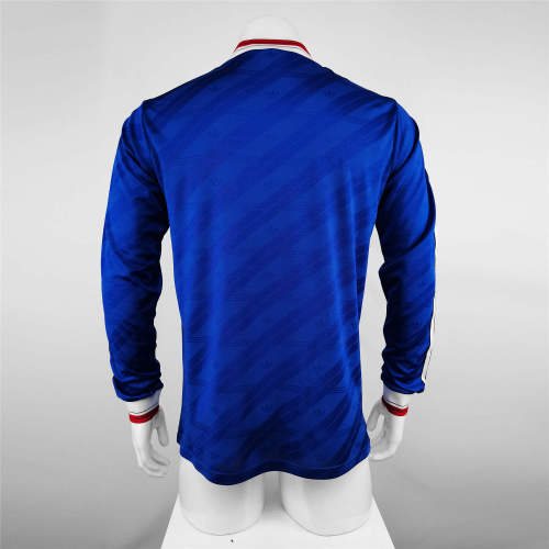 Manchester United Away Long Sleeve Retro Jersey 1986