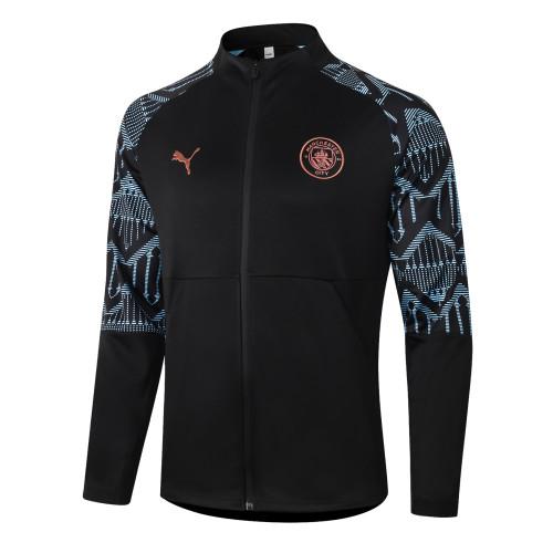 Manchester City Training Jacket 20/21 Black