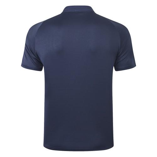 Juventus POLO Jersey 20/21 Royal blue