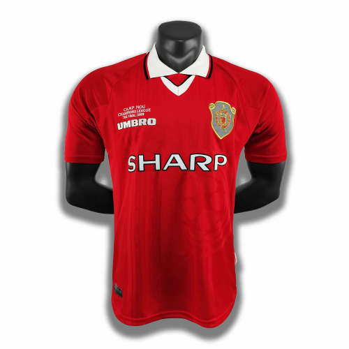 Manchester United Home Retro Jersey 99/00