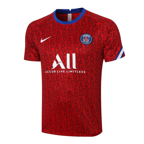 Paris Saint Germain Training Jersey 20/21 red