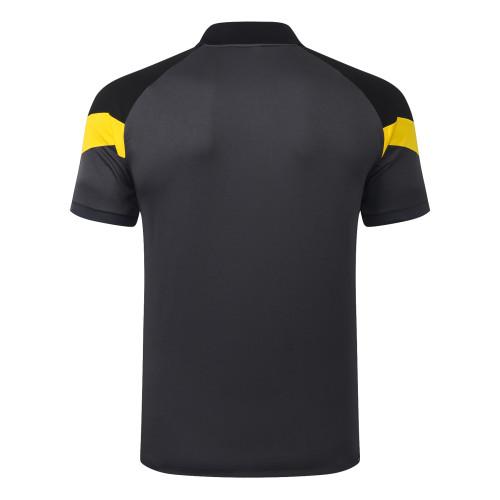 Borussia Dortmund POLO Jersey 20/21 Dark grey