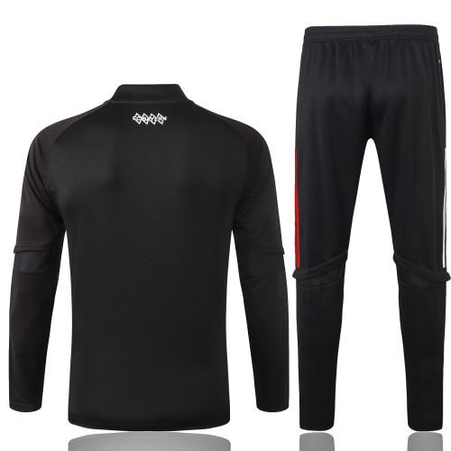 Bayern Munich Training Jersey Suit 20/21 Black