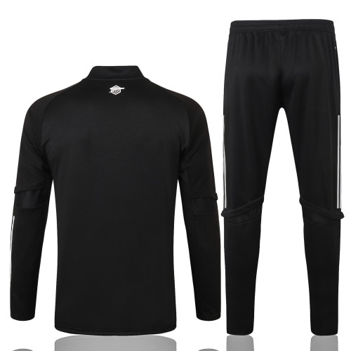Arsenal Training Jersey Suit 20/21 Black