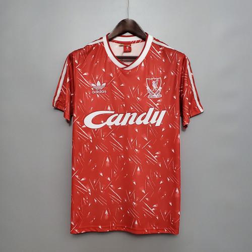 Liverpool Home Retro Jersey 89/91