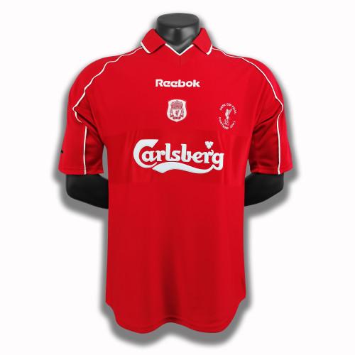 Liverpool Home Retro Jersey 00/01