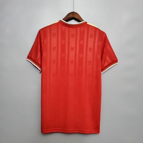 Liverpool Home Retro Jersey 85/86