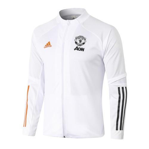 Manchester United Training Jacket 20/21 White
