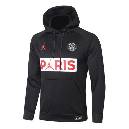 Paris Saint Germain Training Hoodie 20/21 Black