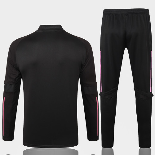 Real Madrid Training Jersey Suit 20/21 Black