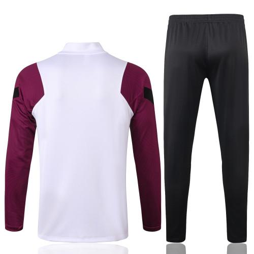 Paris Saint Germain Training Jersey Suit 20/21 White