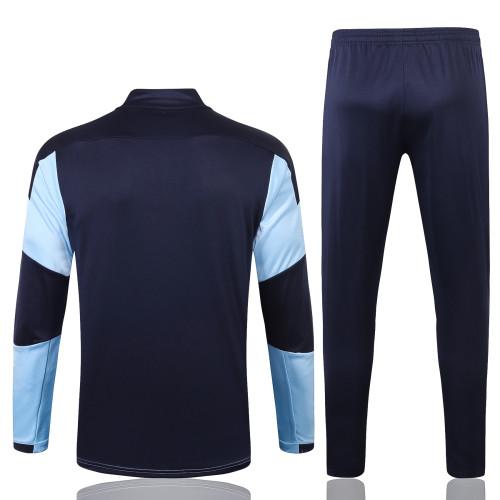 Manchester City Training Jersey Suit 20/21 Light blue