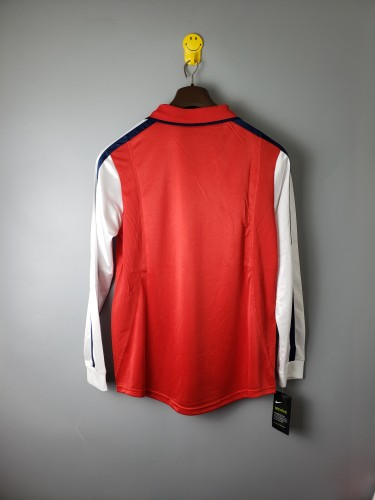 Arsenal Home Retro Long Sleeves Jersey 00/02