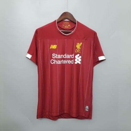 Liverpool Home #11 M.Salah Jersey 19/20 Tops