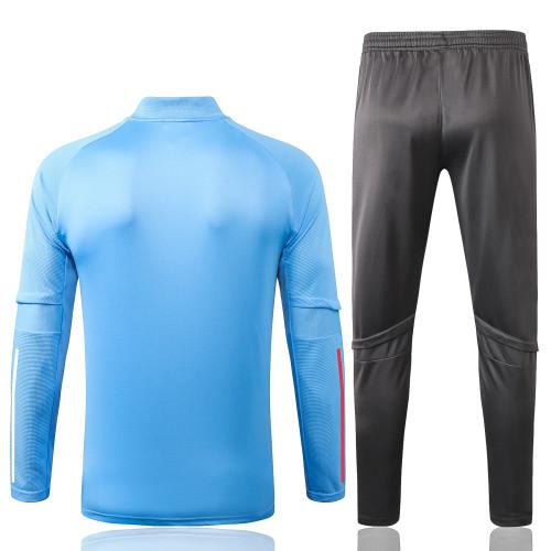 Real Madrid Training Jersey Suit 20/21 Light blue