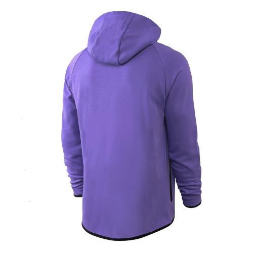 Nike Cotton Jacket Suit Purple