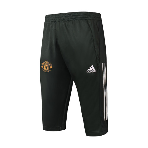 Manchester United Training Capri Pants 20/21 Army Green