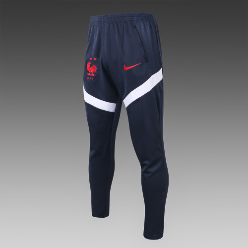 France Training Pants 20/21 Royal Blue-01