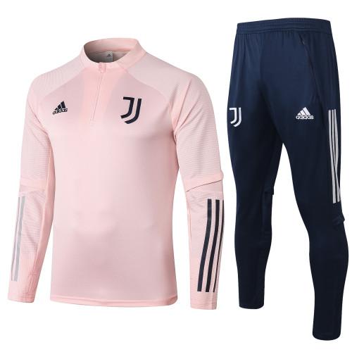 Juventus Kids Training Jacket Suit 20/21 Pink
