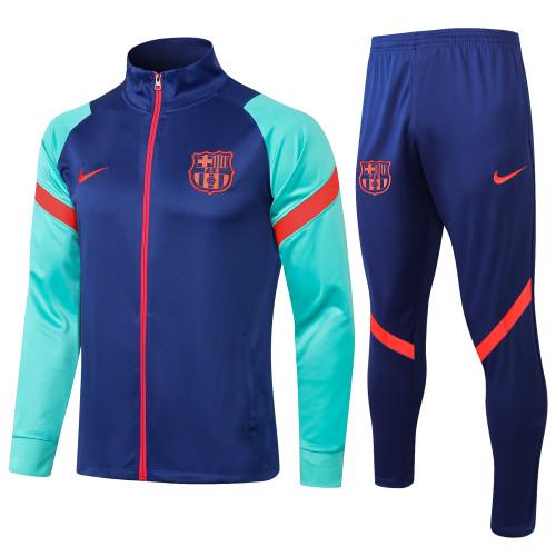 Barcelona Training Jacket 21/22 Blue