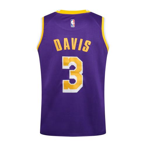Anthony Davis Los Angeles Lakers Nike 2020/21 Swingman Jersey - Purple