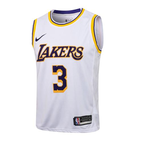 Anthony Davis Los Angeles Lakers 2020/21 Swingman Jersey - White
