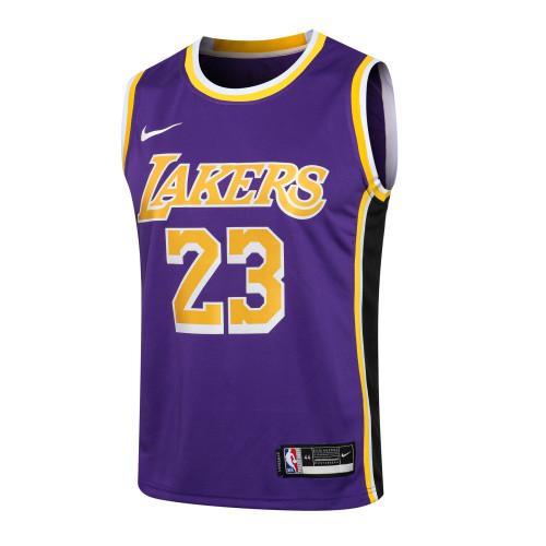 LeBron James Los Angeles Lakers Nike 2020/21 Swingman Jersey - Purple