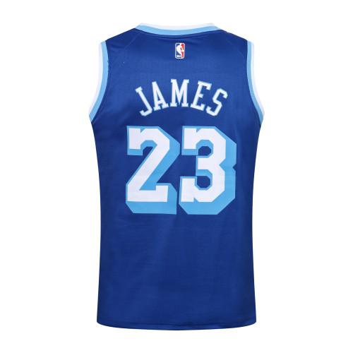 LeBron James Los Angeles Lakers 2020/21 Swingman Jersey - Blue