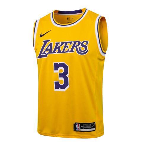 Anthony Davis Los Angeles Lakers 2020/21 Swingman Jersey - Yellow