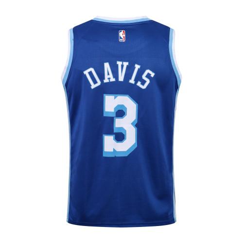 Anthony Davis Los Angeles Lakers Nike 2020/21 Swingman Jersey - Blue